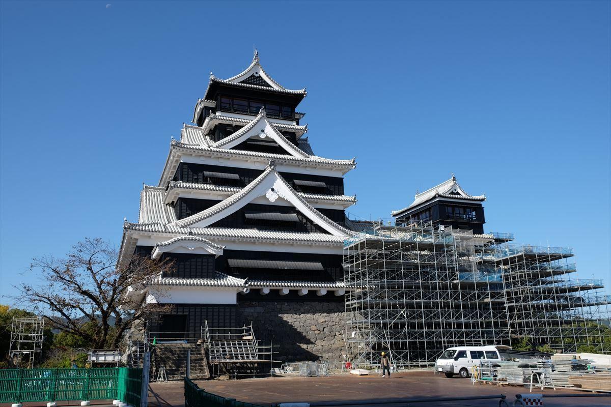 公開延期】2021年春、熊本城の特別公開第3弾がスタート決定 ...